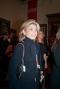 NADINE AYSOY, Opening of David Hockney ' A Bigger Picture' Royal Academy. Piccadilly. London. 17 January 2012