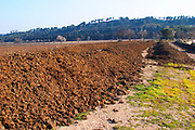 Organic bio-dynamic manure to be used as fertiliser at Mas de Gourgonnier, in Les Baux de Provence, Bouche du Rhone, France