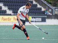 AMSTELVEEN -  Brent van Bijnen (Amsterdam)  tijdens de hockey hoofdklasse competitiewedstrijd  heren, Amsterdam-HC Tilburg (3-0).  COPYRIGHT KOEN SUYK