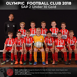 Olympic FC SAP 2 Under 10 Gold 2018