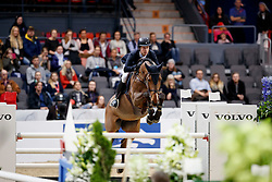 Lindelow Douglas, SWE, Caville<br /> Gothenburg Horse Show FEI World Cups 2017<br /> © Hippo Foto - Stefan Lafrentz