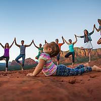 Yoga in Sedona Full Gallery
