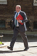 © Licensed to London News Pictures. 08/07/2014. Westminster, UK Ed Davey, Liberal Democrat MP, Energy and Climate Secretary,  arriving on Downing Street today 8th July 2014 for the weekly cabinet meeting. Photo credit : Stephen Simpson/LNP