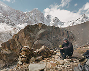 "Down from the Irshad Pass (4950m) into Pakistan's Chapursan valley. Guiding and photographing Paul Salopek while trekking with 2 donkeys across the ""Roof of the World"", through the Afghan Pamir and Hindukush mountains, into Pakistan and the Karakoram mountains of the Greater Western Himalaya."