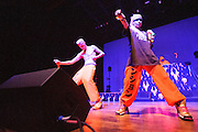 South African rap group Die Antwoord performing at the Pageant in St. Louis on October 18, 2012.