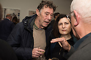 GERRY BADGER; DAVID HURN, Opening of the Martin Parr Foundation party,  Martin Parr Foundation, 316 Paintworks, Bristol, BS4 3 EH  20 October 2017