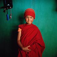young nun from Yangchen Choeling nunnery, Spiti