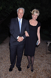 JEREMY WALSH and BARONESS BEA VAN ZUYLEN at the annual Cartier Chelsea Flower Show dinner held at the Chelsea Physic Garden on 21st May 2007.<br /><br />NON EXCLUSIVE - WORLD RIGHTS