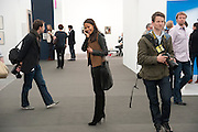 RACHEL BARRETT, opening of the 2010 Frieze art fair. Regent's Park. London. 13 October 2010. -DO NOT ARCHIVE-© Copyright Photograph by Dafydd Jones. 248 Clapham Rd. London SW9 0PZ. Tel 0207 820 0771. www.dafjones.com.