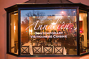 Annalien Vietnamese Restaurant in downtown Napa, California. Napa Valley.