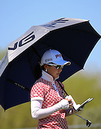 22 MAR15  Japan's Ayako Uehara during Sunday's Final Round of the JTBC Founder's Cup at The Wildfire Golf Club in Scottsdale, Arizona. (photo credit : kenneth e. dennis/kendennisphoto.com)