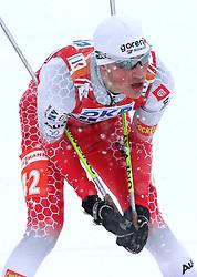 Gasper Berlot of Slovenia at Nordic Combined Mass start 10 km of FIS Nordic World Ski Championships Liberec 2009, on February 19, 2009, in Liberec, Czech Republic. (Photo by Vid Ponikvar / Sportida)