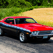 1974 Dodge Challenger on pavement