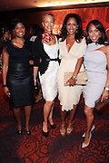 13 September 2010- New York, NY- l to r: Angela Burt-Murray, Tonya Lewis Lee, Malaak Compton-Rock and Marjorie Bridges at Essence Magazine's Fierce & Fabulous Awards Luncheon honoring exceptional Women who are making a difference in the world sponsored by Buick and Clinique held at The Mandarian Oriental on September 13, 2010 in New York City. Photo Credit: Terrence Jennings