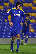 AFC Wimbledon striker Ollie Palmer (9) walking off pitch during the EFL Sky Bet League 1 match between AFC Wimbledon and Doncaster Rovers at Plough Lane, London, United Kingdom on 3 November 2020. The first League match at the new stadium.