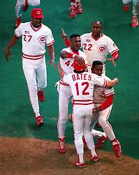 The Cincinnati Reds win Game 2, 1990