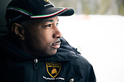 Lamborghini Winter Accademia program, Lac Sacacomie Quebec. Stacey Rhodes