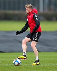Taylor Moore of Bristol City during a training session ahead of the FA Cup game with Portsmouth - Rogan/JMP - 07/01/2021 - Failand - Bristol, England.