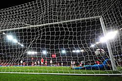 Ben Woodburn of Wales scores a goal - Mandatory by-line: Dougie Allward/JMP - 02/09/2017 - FOOTBALL - Cardiff City Stadium - Cardiff, Wales - Wales v Austria - FIFA World Cup Qualifier 2018