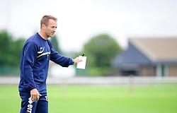 Bristol Rovers' U18s Academy Manager, Tom Curtis  - Photo mandatory by-line: Dougie Allward/JMP - Tel: Mobile: 07966 386802 17/08/2013 - SPORT - FOOTBALL - Bristol Rovers Training Ground - Friends Life Sports Ground - Bristol - Academy - Under 18s - Youth - Bristol Rovers U18s V Bournemouth U18s