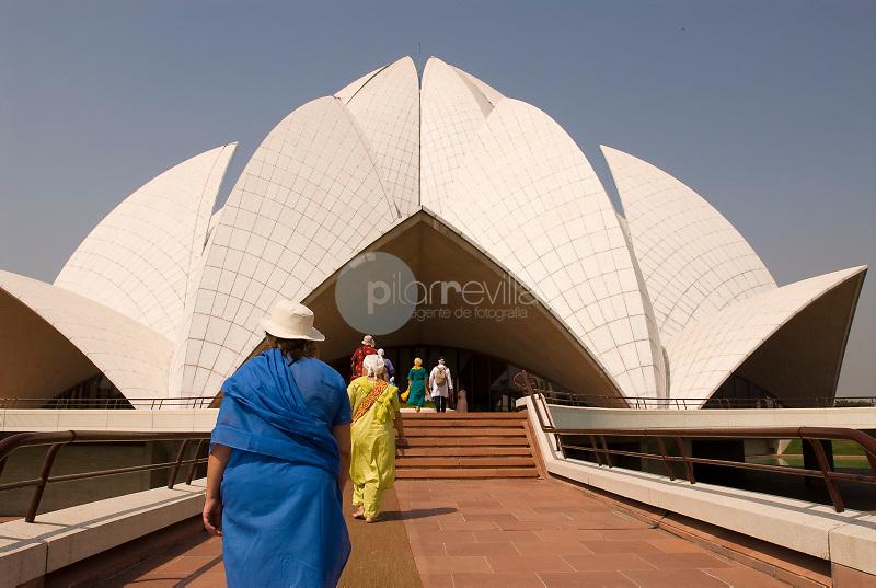 Templo del Loto-Nueva Delhi-India ©Antonio Real Hurtado / PILAR REVILLA