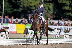 Andersen Maria Anita, DEN, Atterupgaards Spiderman<br /> WK Young Horses Verden 2021<br /> © Hippo Foto - Dirk Caremans<br /> 25/08/2021