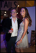 JIMMY RIVETT; OLIVIA COLE, Matt's Gallery 35th birthday fundraising supper.  42-44 Copperfield Road, London E3 4RR. 12 June 2014.