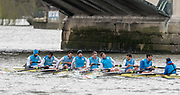 Hammersmith, GREATER LONDON. United Kingdom Cambridge University  Boat  Club, Pre Boat Race Fixture CUBC vs ITA M8+ for the 2017 Boat Race The Championship Course, Putney to Mortlake on the River Thames.<br /> <br /> Saturday  18/03/2017<br /> <br /> [Mandatory Credit; Peter SPURRIER/Intersport Images]<br /> Italy (not in seat order)<br /> <br /> Marco Di Costanzo, Giovanni Abagnale, Giuseppe Vicino, Matteo Lodo, Domenico Montrone, Matteo Castaldo, Luca Parlato, Emanuele Liuzzi and Co, Enrico D'Aniello