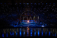 20160908 Copyright onEdition 2016©<br /> Free for editorial use image, please credit: onEdition<br /> <br /> ParalympicsGB, the opening ceremony of the 2016 Paralympic Games taking place in Rio De Janeiro.<br /> <br /> ParalympicsGB is the name for the Great Britain and Northern Ireland Paralympic Team that competes at the summer and winter Paralympic Games. The Team is selected and managed by the British Paralympic Association, in conjunction with the national governing bodies, and is made up of the best sportsmen and women who compete in the 22 summer and 4 winter sports on the Paralympic Programme.<br /> <br /> For additional Images please visit: http://www.w-w-i.com/paralympicsgb_2016/<br /> <br /> For more information please contact the press office via press@paralympics.org.uk or on +44 (0) 7717 587 055<br /> <br /> If you require a higher resolution image or you have any other onEdition photographic enquiries, please contact onEdition on 0845 900 2 900 or email info@onEdition.com<br /> This image is copyright onEdition 2016©.<br /> <br /> This image has been supplied by onEdition and must be credited onEdition. The author is asserting his full Moral rights in relation to the publication of this image. Rights for onward transmission of any image or file is not granted or implied. Changing or deleting Copyright information is illegal as specified in the Copyright, Design and Patents Act 1988. If you are in any way unsure of your right to publish this image please contact onEdition on 0845 900 2 900 or email info@onEdition.com