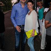 NLD/Amsterdam/20120523 - Showcase Glennis Grace, Lange Frans Frederiks en partner Danielle van Aalderen