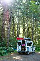 Rainier Lakes, Oregon.