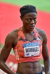July 20, 2018 - Monaco, France - 400 metres dames - Shakima Wimbley  (Credit Image: © Panoramic via ZUMA Press)
