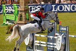 Ameeuw Louise, BEL, Lover Boy Z<br /> European Championship Children, Juniors, Young Riders - Fontainebleau 1028<br /> © Hippo Foto - Dirk Caremans<br /> Ameeuw Louise, BEL, Lover Boy Z