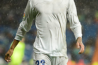 Real Madrid's T-shirt with not sponsor during match of La Liga between Real Madrid and Sporting de Gijon at Santiago Bernabeu Stadium in Madrid, Spain. November 26, 2016. (ALTERPHOTOS/BorjaB.Hojas)