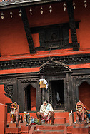 Nepali Mandir, one of the oldest Hindu temples in Varanasi, Uttar Pradesh, India