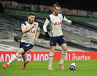 Football - 2020 / 2021 Premier League - Tottenham Hotspur vs Crystal Palace - Tottenham Hotspur Stadium<br /> <br /> Gareth Bale and Matt Doherty of Tottenham<br /> <br /> Credit : COLORSPORT/ANDREW COWIE