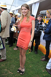 EMERALD FRASER at the 2011 Veuve Clicquot Gold Cup Final at Cowdray Park, Midhurst, West Sussex on 17th July 2011.