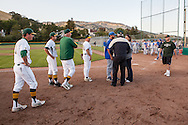 San Marin High School and Alcalanes High School administrators and coaches attempt to schedule a day to resume the North Coast Section Division 3 championship game  that was suspended between their two schools on June 6, 2011.  The final score remained 4-4, when NCS officials later declared both teams Co-champions.