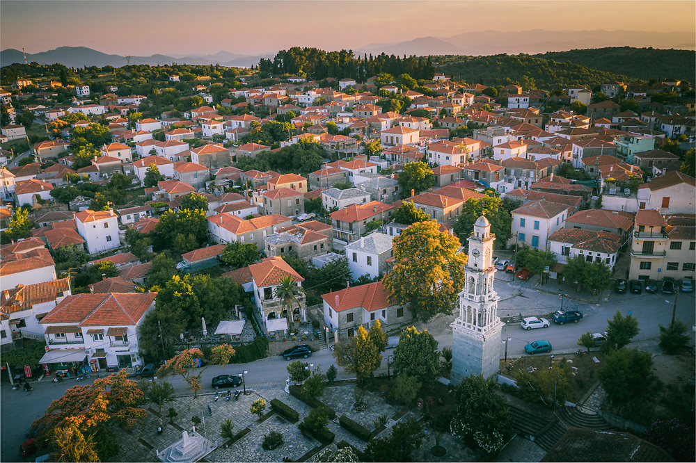 City or town hall of Argalasti Pelion, Greece