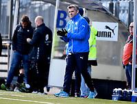 Fotball , 18. mars 2017 ,  Privatkamp , Strømsgodset - Sogndal 5-0<br /> trener Tor Ole Skullerud , SIF
