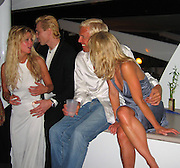 **EXCLUSIVE**.Tara Reid with Boyfriend Sergei Federov celebrating the New Year in a Private Yacht.St. Barth, Caribbean.Friday, December 31, 2004.Photo By Celebrityvibe.com/Photovibe.com, New York, USA, Phone 212 410 5354, email:sales@celebrityvibe.com...