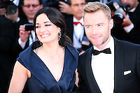 Ronan Keating and Laura Michelle Kelly at the Killing Them Softly gala screening at the 65th Cannes Film Festival France. Tuesday 22nd May 2012 in Cannes Film Festival, France.