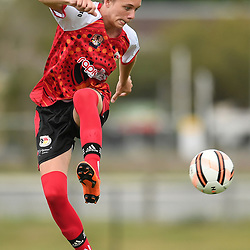 during the Australian Indigenous Football Championships Day 1 match between CQ Spirit and the Newcastle AllStars at Logan Metro City Complex on November 8, 2018 in Brisbane, Australia. (Photo by Albert Perez/AIFC)