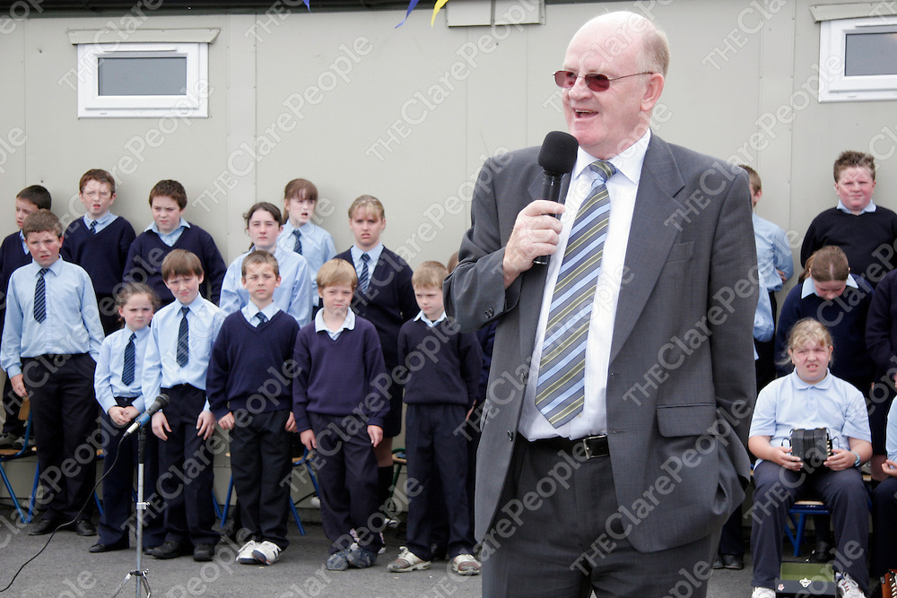 Keran Kennedy from the Clare Education Committee at the Mullagh NS Trilingual CD launch last Friday.<br /><br /><br /><br /><br /><br />Photograph by Yvonne Vaughan.