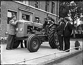 1961 - Presentation of Fordson Super Major tractor at Albert College, Glasnevin