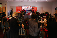 Robert Howley , the coach of Wales © and Alun Wyn Jones, the Wales captain speak to the press during the Wales Rugby team announcement press conference at the Vale Resort, Hensol near Cardiff, South Wales on Wednesday 8th March 2017. The team are preparing for the the RBS Six nations match against Ireland.  pic by  Andrew Orchard, Andrew Orchard sports photography.