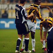 NLD/Arnhem/20051211 - Voetbal, Vitesse - Ajax 2005, Johnny Heitinga