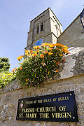 Isles of Scilly, 20 May 2009: The Parish Church of St Mary's, Hugh Town, on the Isles of Scilly. Photo by Peter Horrell / http://peterhorrell.com