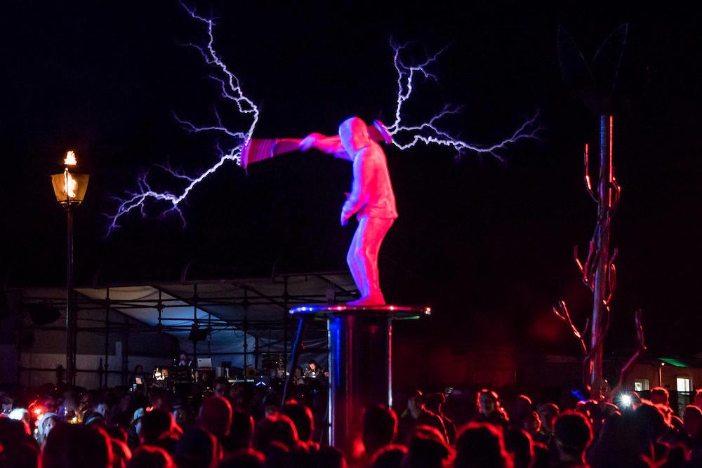 Metamorphosis Show in Arcadia - The 2016 Glastonbury Festival, Worthy Farm, Glastonbury.
