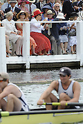 Henley, GREAT BRITAIN Spectators watching the racing in Stewards.  2010 Henley Royal Regatta. 12:11:30, Thursday  01/07/2010 [Mandatory Credit: Peter Spurrier / Intersport-images] Rowing Courses, Henley Reach, Henley, ENGLAND . HRR.